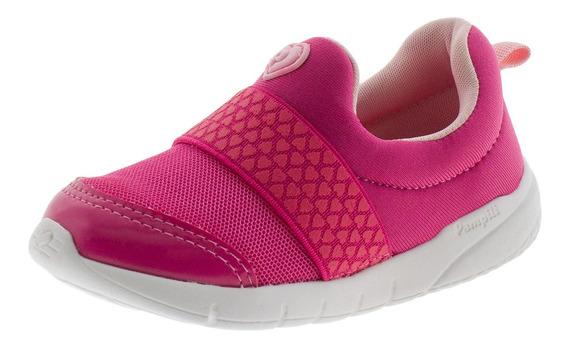 Tênis Infantil Feminino Pampili - 445001 Pink
