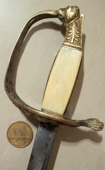 Antiguo Sable D Oficial Armada Argentina 1890. Daga Bayoneta