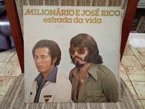 Lp/vinil- Milionário E José Rico- Estrada Da Vida-vol.05