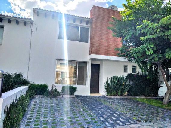 Casa Renta El Mirador Priv 3 Rec 3 Baños Alberca Jardín Lujo