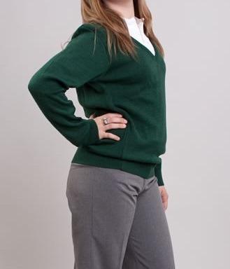 Sweater Dralon Colegial, Sin Acrilico 6 Al 16, Excelente Cal
