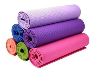 Mat Yoga Pilates Fitness Colchoneta Gym Enrollab 6mm 180x065