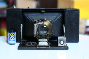 Raríssima Camera Kodak 3a Folding Brownie De 1909 Excelente