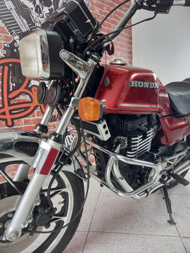Honda Cb 450 Custom 1983 Restaurada