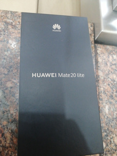 Celular Huawei Mate 20 Lite Black 64gb