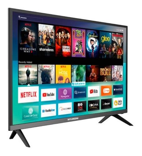 Imagen 1 de 2 de Televisor Hyundai 32 Pulgadas Led Smart Tv Hd Tdt Borderles