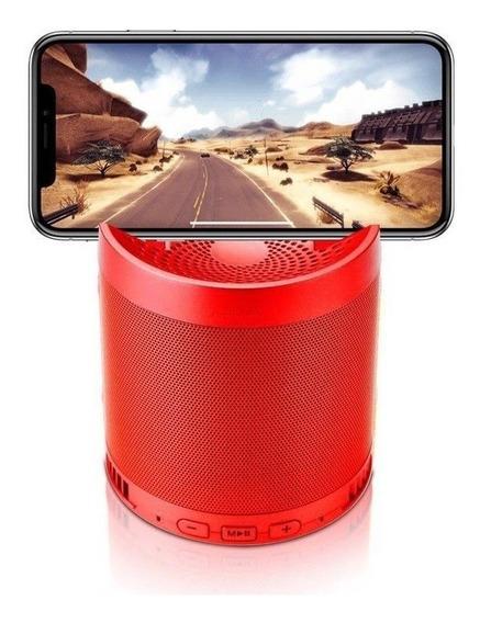 Caixa Som Caixinha Bluetooth Dock Radio Fm Potente Usb Mp3