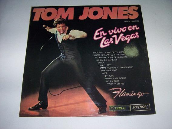 Tom Jones - En Vivo En Las Vegas Long Play 1970!!