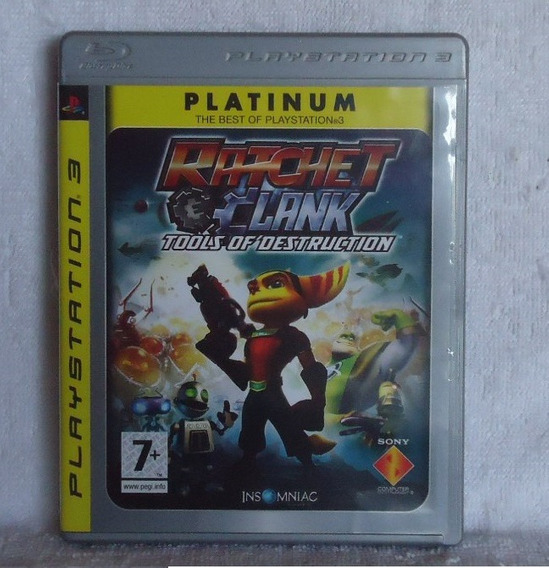 Ratchet Clank Tools Of Destruction Ps3 Portugues ** Leia