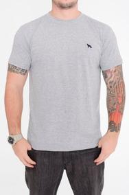 1734e5d481 Camiseta Masculina Básica Bordado Raposa Acostamento