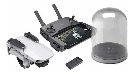 Drone Dji Mavic Mini Hd Gray+carregador Sem Fio+1 Bat Extra