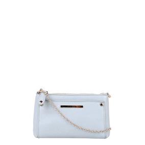 Bolsa Colcci Mini Bag Tiracolo Alça Corrente Feminina - Azul