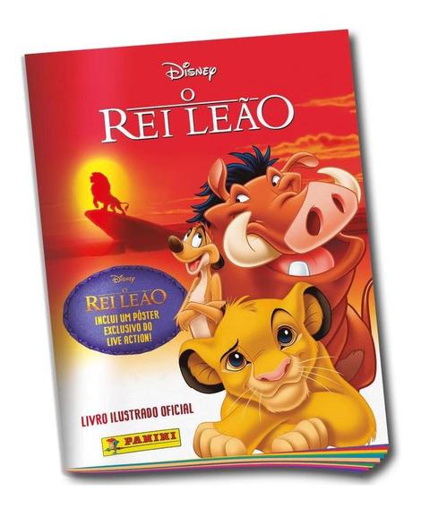 Livro Ilustrado Oficial O Rei Leão Clássico
