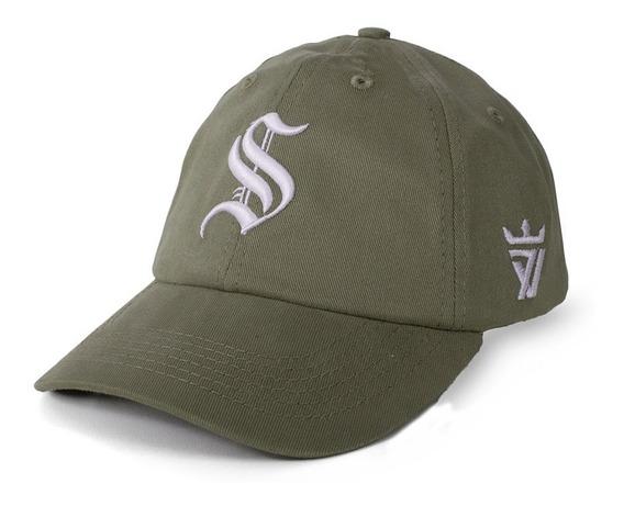 Boné Seven Brand Strapback Dat Hat Dad Old Bege Original