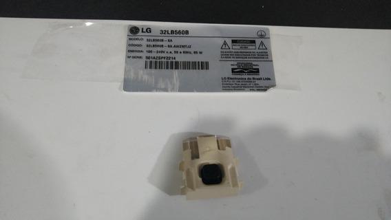 Botão Sensor Do Remoto Tv Lg 32lb560b