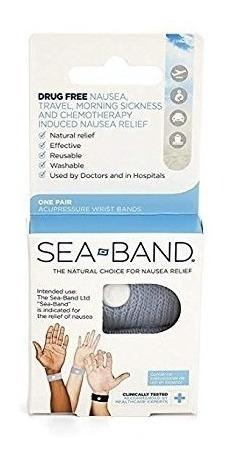 Bandas Sea-band Sea-band Acupresión Muñeca, 3 Pares