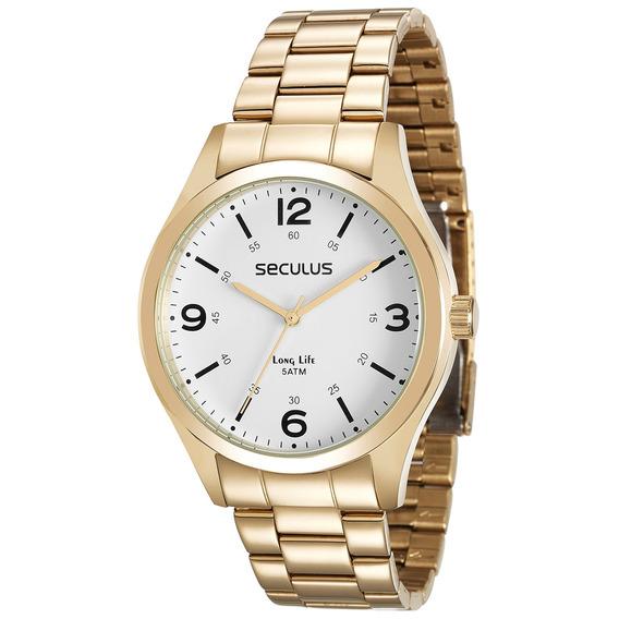 Relógio Seculus Masculino Original 28891gpsvda2