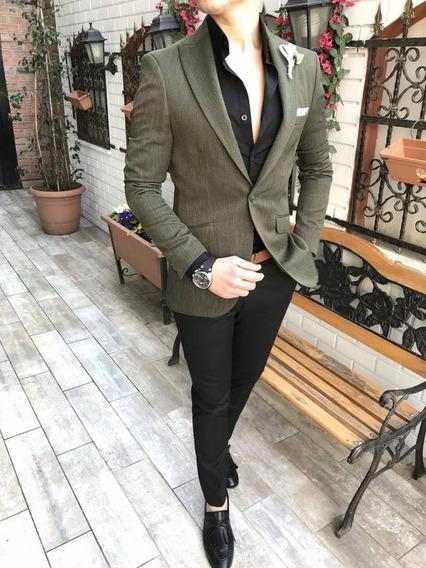 Jaqueta Blazer Estilo Italiano Masculino 201
