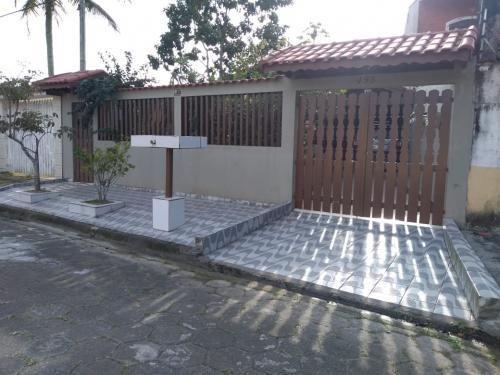 Imagem 1 de 8 de Casa 350m Do Mar Com 2 Dorm 1 Wc E Área De 260m² 7033