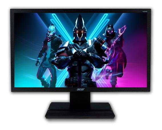 Monitor Acer 22 Full Hd Hdmi - Dvi - Vga Nfe 1 Ano Garantia