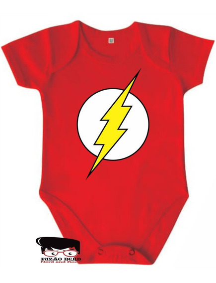 Body Flash Vermelho Liga Da Justiça Nerd Dc Comics