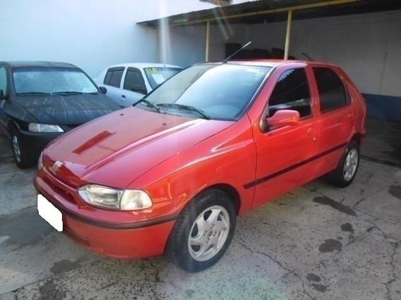 Fiat Palio 1.0 Edx 8v Gasolina 4p Manual 1998 Vermelho
