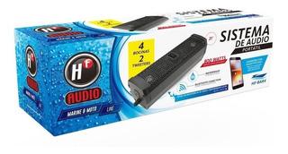 Bocina Carrito De Golf Barra 4 Bocinas Contra Agua Bluetooth