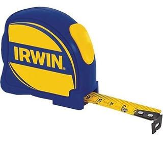 Trena Irwin Bolso 3m Tres Metros / 10ft Com Trava Bloqueio Profissional Pedreiro Alveneiro Alvenaria Casa Construção