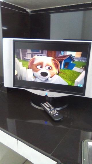 Televisor Síragon Original Lcd 19 Pulg. Tv/monitor Impecable