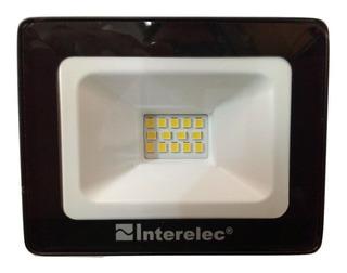 Reflector Led 10w 220v Blanco Frio Potente Exterior