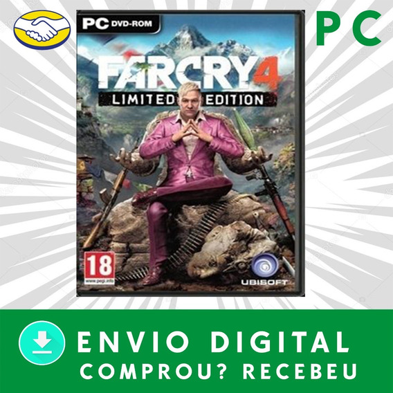 Far Cry 4 Pc Digital Offline +1 Jogo Brinde