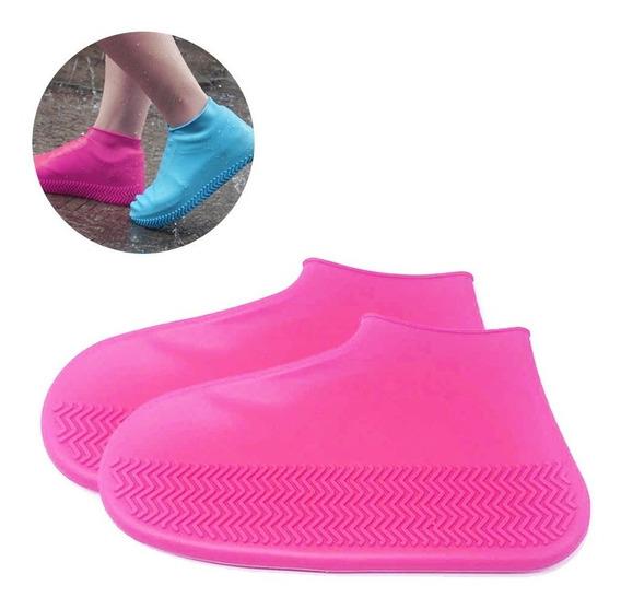 Bota De Chuva P/ Sapato Tênis Impermeável Adulto - Infantil