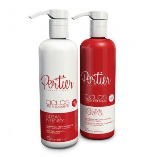 Kit Ciclos B-tox Liquido Portier 500ml (2 Produtos)