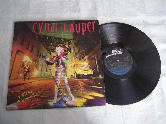 Lp Vinil - Cyndi Lauper - A Night To Remember