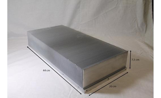 Dissipador Aluminio Fonte Potencia Inversor Audio Classe A D