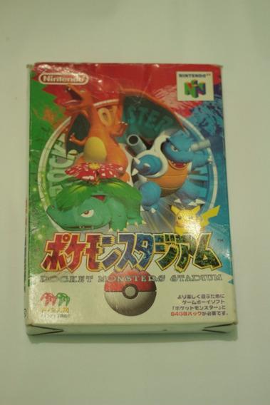 Pokemon Stadium Original Nintendo 64 N64 Frete Gratis !