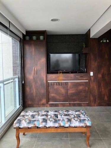 Imagem 1 de 30 de Flat Com 1 Dormitório Para Alugar, 42 M² Por R$ 2.400,00/mês - Centro - São Bernardo Do Campo/sp - Fl0029