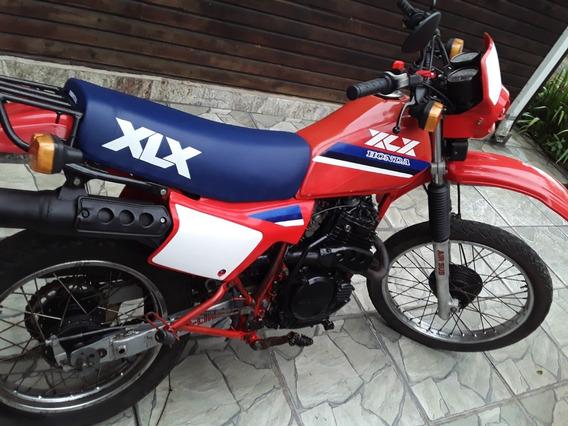 Moto Honda Xlx 250 Ano 1986 Carburador Duplo