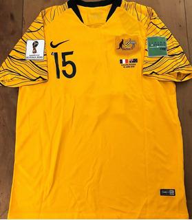 Camisa Da Austrália Copa Do Mundo 2018 Vs França