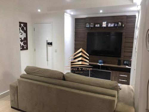Apartamento 3 Dormitórios, 1 Suite, 2 Vagas, Parque Clube - Vila Augusta. - Ap1037
