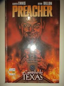 Vertigo Preacher 1 A Caminho Do Texas Panini Books Excelente