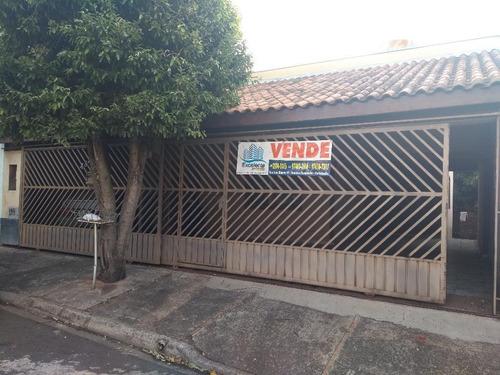 Imagem 1 de 15 de Casas - Venda - Jardim Santana - Cod. Ca0158 - Vca0158