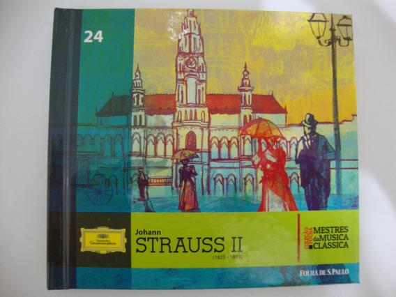 Cd Strauss Ii Mestres Da Música Clássica Folha 24 Novo