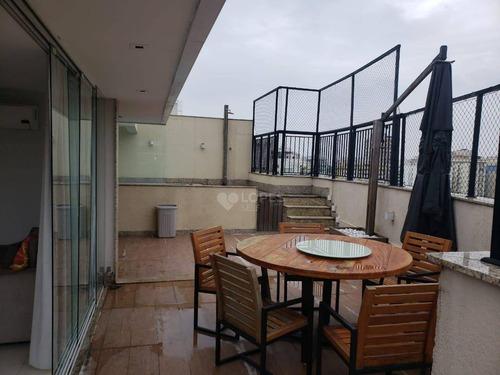 Cobertura Com 3 Quartos, 180 M² Por R$ 1.590.000 - Vital Brasil - Niterói/rj - Co3112