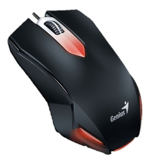 Mouse Gamer Iluminado Genius Compatible Windows Mac-os