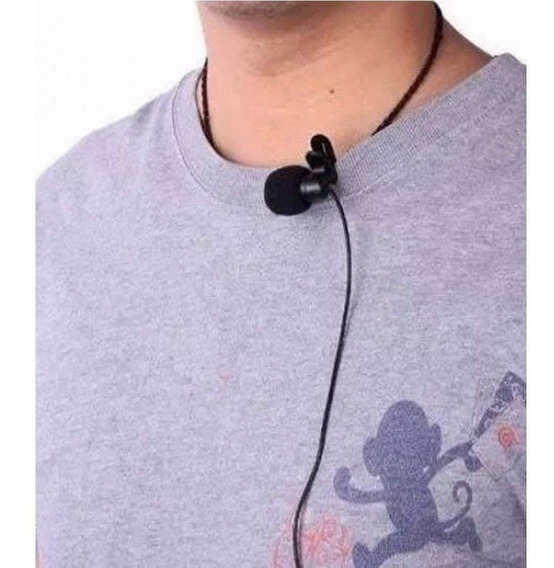 Microfone Lapela Para Celular Smartphone Android Computador