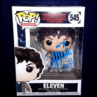 Funko Autografo Millie Bobby Brown Stranger Things Eleven 11