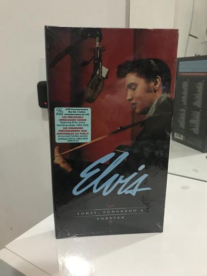 Elvis Presley Box Today Tomorrow And For Ever Lacrado 04 Cds