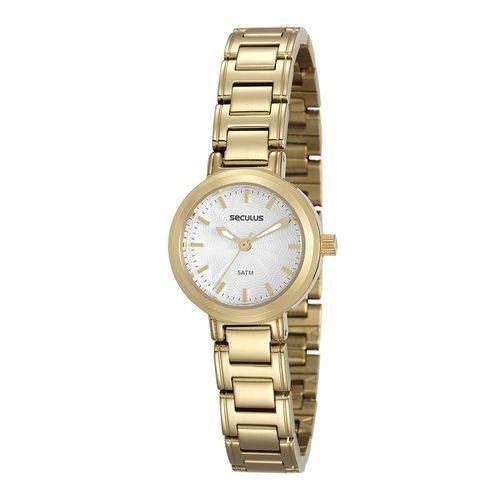 Relógio De Pulso Feminino Seculus Cód. 20485lpsvds1