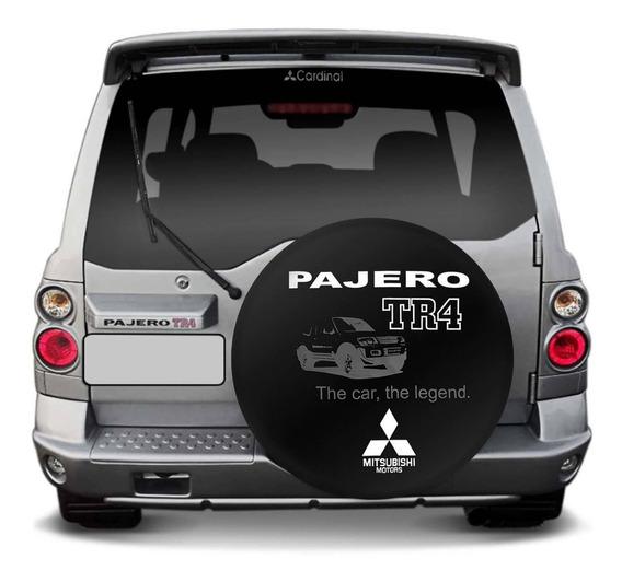 Capa Estepe Pajero Tr4 02 A 18 The Car Legend Preto Branco